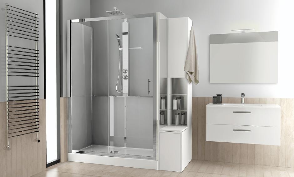Sostituire / Trasformare la vasca da bagno in doccia! Novellini Revolution è la soluzione!
