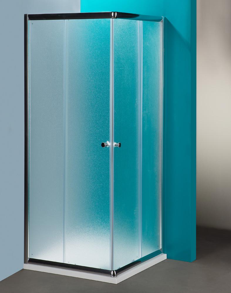 Box doccia angolare quadrato modello Silver