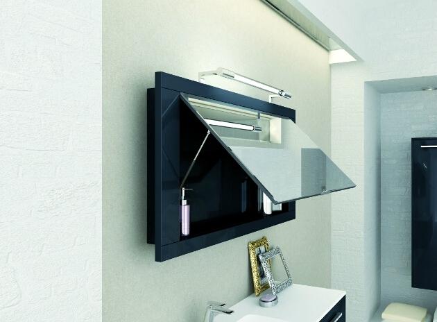 Specchio contenitore Puntotre modello Vario