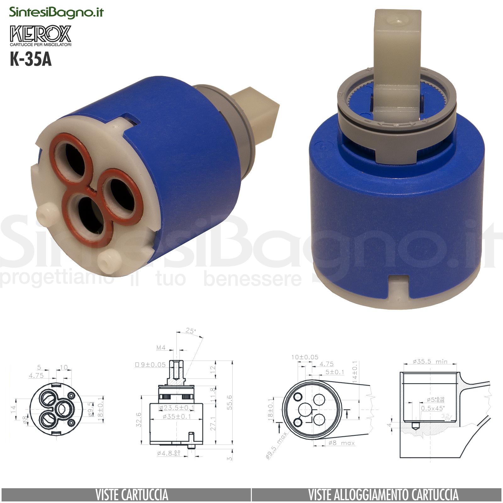 K35A-cartuccia-di-ricambio-KEROX-a-dischi-ceramici-per-miscelatore-monocomando-modello-K-35A