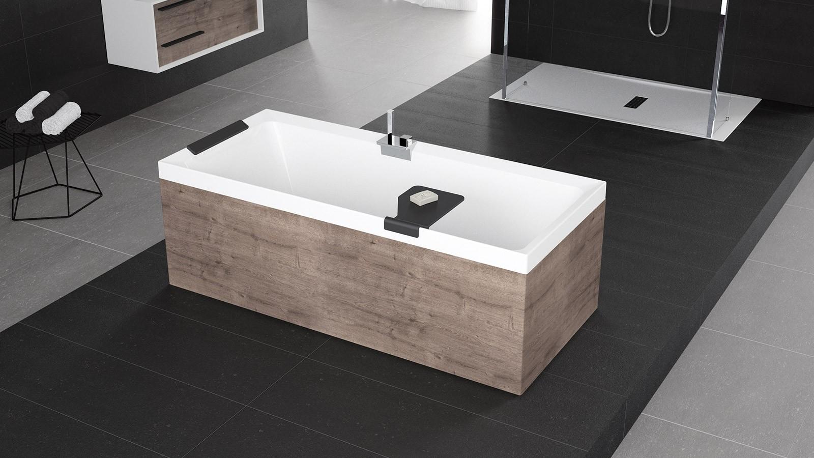 Vasca da bagno novellini diva standard sintesibagno network - Vasca da bagno standard ...