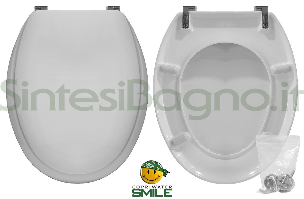 Copriwater DEDICATO vaso VITRUVIT serie ROMA economico SMILE