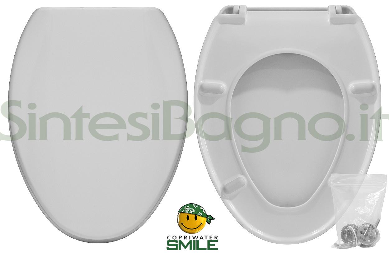 Copriwater DEDICATO vaso SCALA serie SPAZIO 3P economico SMILE