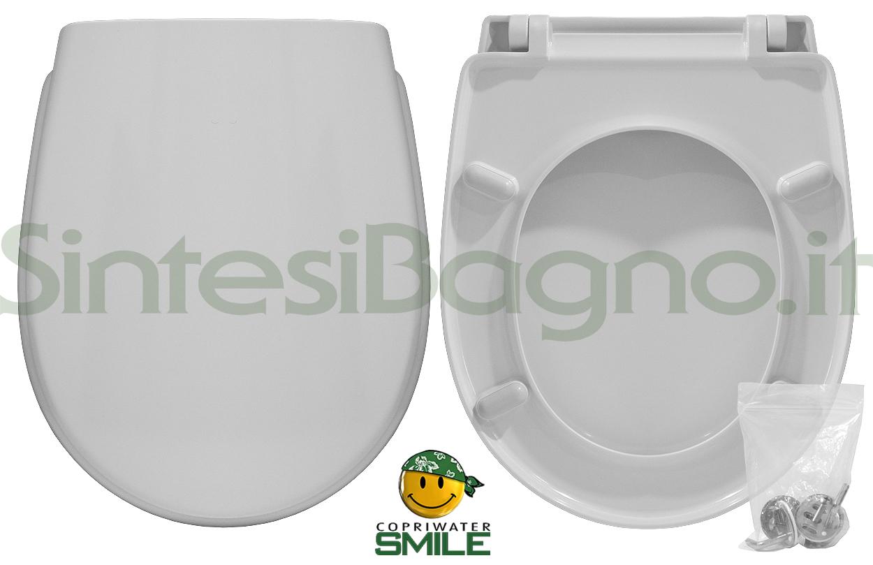 Copriwater DEDICATO vaso GALASSIA GALVIT serie PIUMA economico SMILE