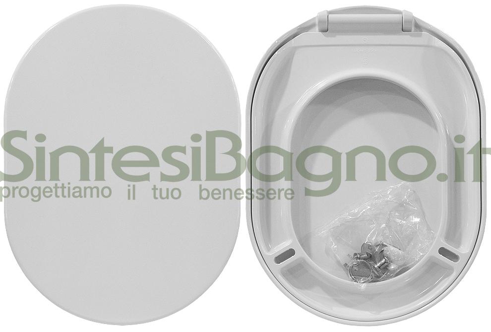 Copriwater ORIGINALE per vaso CATALANO serie C 52 LIGHT in resina termondurente