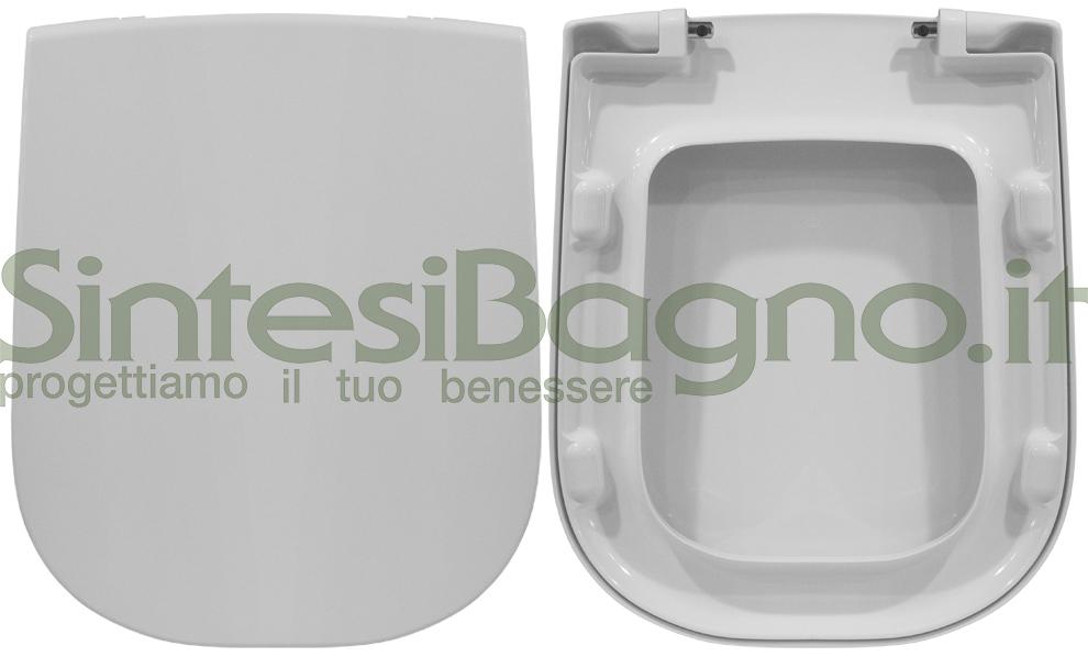 Copriwater ORIGINALE vaso IDEAL STANDARD serie ACTIVE in resina termondurente