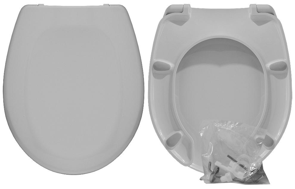 Copriwater UNIVERSALE DISABILI linea PLUS | Cerniere acciaio inox rallentate / Soft Close