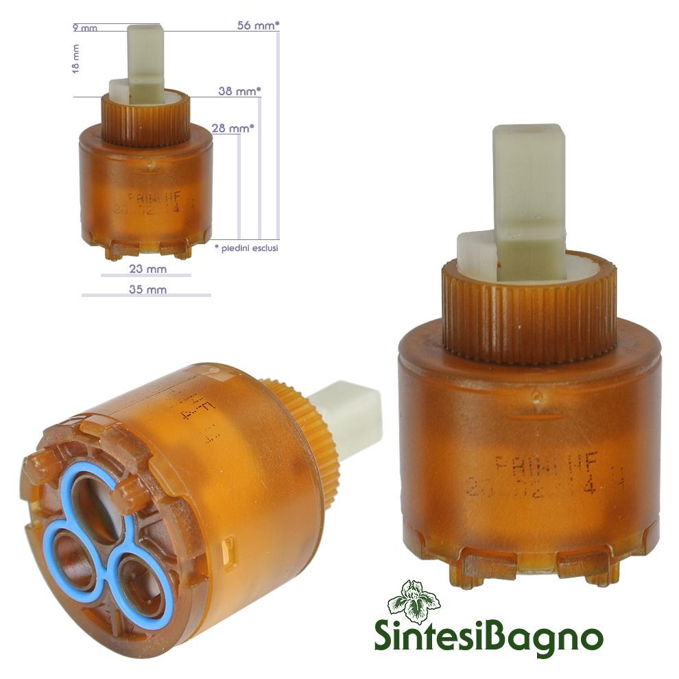 Cartuccia per miscelatore monocomando Paini Ø 35 - 53CC956GMCF