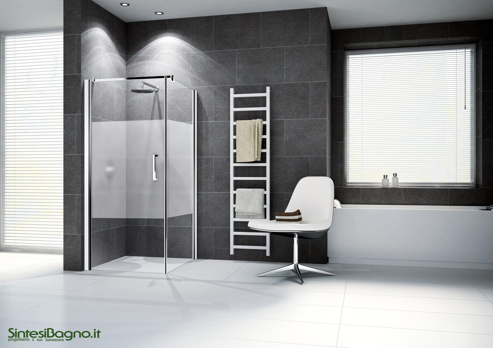 Vetrocemento apribile - Cabine doccia multifunzione novellini ...